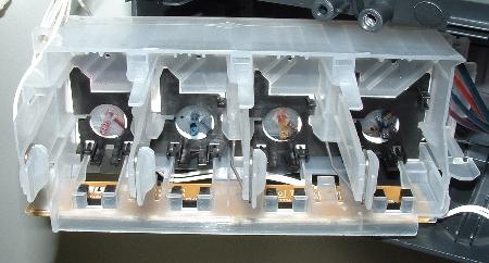 Brother MFC-215C Tankaufnahme