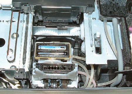 Brother MFC-215c Parkeinheit