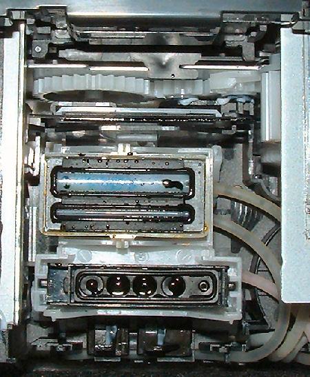 Brother MFC-215 Parkeinheit Draufsicht